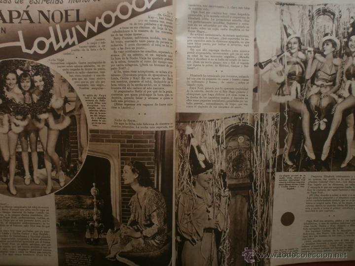 Cine: CINEGRAMAS Nº16.1934.SHIRLEY TEMPLE.LUPE VELEZ,LAS MARIONETAS,PAPA NOEL-HOLLYWOOD,CLUDETTE COLBERT. - Foto 11 - 40966142