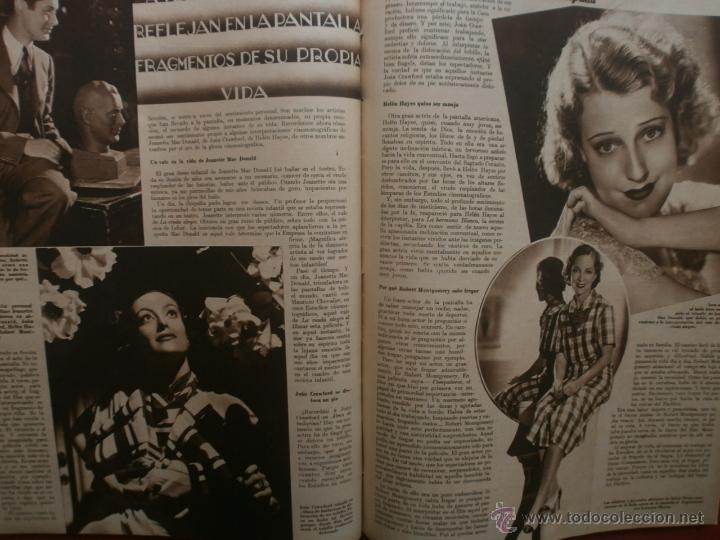 Cine: CINEGRAMAS Nº16.1934.SHIRLEY TEMPLE.LUPE VELEZ,LAS MARIONETAS,PAPA NOEL-HOLLYWOOD,CLUDETTE COLBERT. - Foto 12 - 40966142