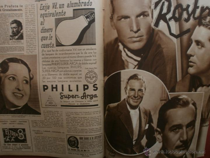 Cine: CINEGRAMAS Nº16.1934.SHIRLEY TEMPLE.LUPE VELEZ,LAS MARIONETAS,PAPA NOEL-HOLLYWOOD,CLUDETTE COLBERT. - Foto 13 - 40966142