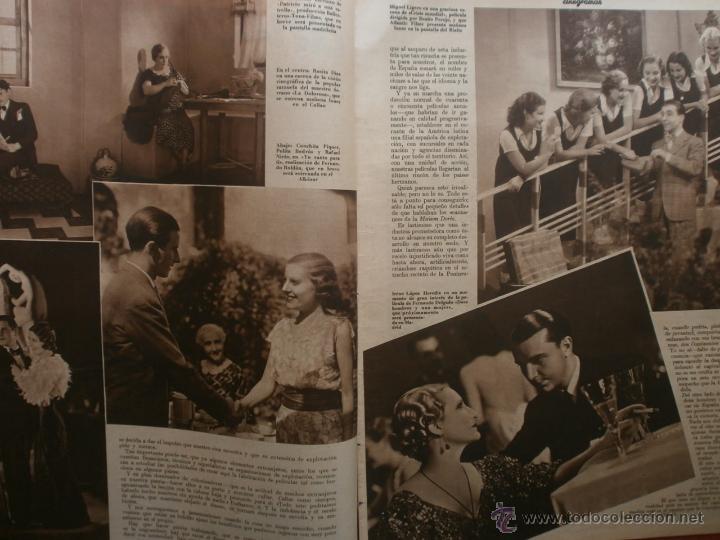 Cine: CINEGRAMAS Nº15.1934.CONCHITA MONTENEGRO.GRETA GARBO,MARLENE DIETRICH,GARY COOPER,GRACE MOORE. - Foto 3 - 40966349