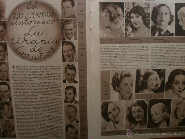 Cine: CINEGRAMAS Nº15.1934.CONCHITA MONTENEGRO.GRETA GARBO,MARLENE DIETRICH,GARY COOPER,GRACE MOORE. - Foto 4 - 40966349