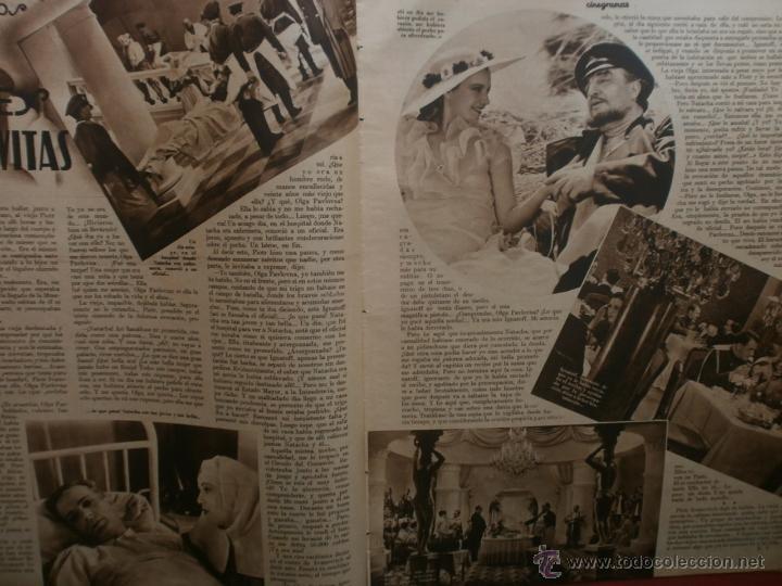 Cine: CINEGRAMAS Nº15.1934.CONCHITA MONTENEGRO.GRETA GARBO,MARLENE DIETRICH,GARY COOPER,GRACE MOORE. - Foto 6 - 40966349