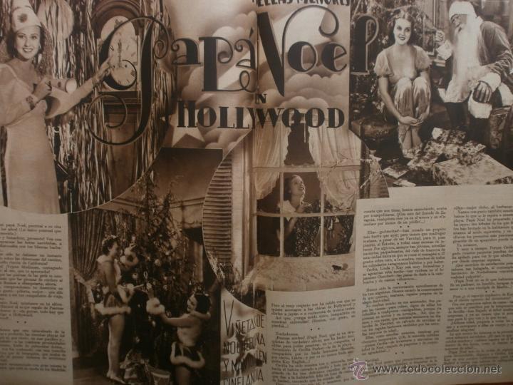 Cine: CINEGRAMAS Nº15.1934.CONCHITA MONTENEGRO.GRETA GARBO,MARLENE DIETRICH,GARY COOPER,GRACE MOORE. - Foto 9 - 40966349