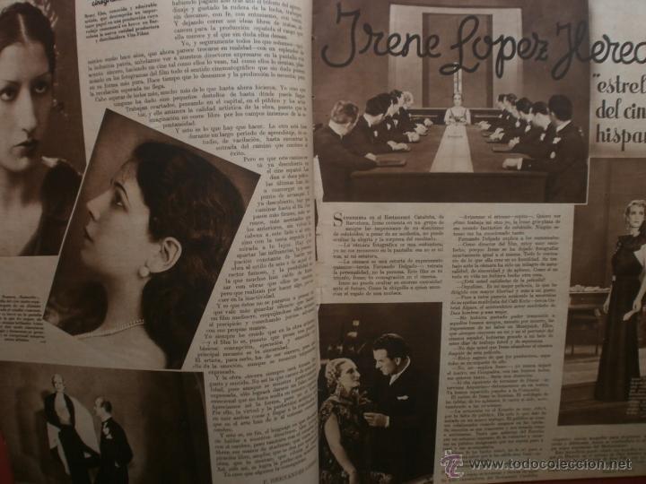 Cine: CINEGRAMAS Nº12.1934.GERTRUDE MICHAEL.IRENE LOPEZ HEREDIA,JAMES CAGNEY,KAY FRANCIS,CATALINA BARCENA. - Foto 3 - 40968536