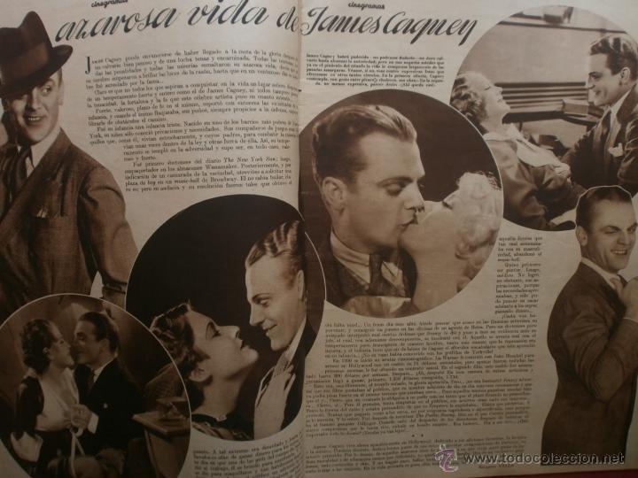 Cine: CINEGRAMAS Nº12.1934.GERTRUDE MICHAEL.IRENE LOPEZ HEREDIA,JAMES CAGNEY,KAY FRANCIS,CATALINA BARCENA. - Foto 4 - 40968536