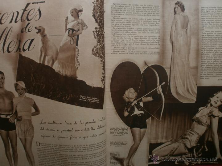 Cine: CINEGRAMAS Nº12.1934.GERTRUDE MICHAEL.IRENE LOPEZ HEREDIA,JAMES CAGNEY,KAY FRANCIS,CATALINA BARCENA. - Foto 5 - 40968536