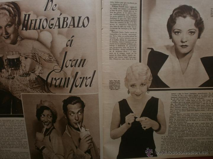 Cine: CINEGRAMAS Nº12.1934.GERTRUDE MICHAEL.IRENE LOPEZ HEREDIA,JAMES CAGNEY,KAY FRANCIS,CATALINA BARCENA. - Foto 7 - 40968536