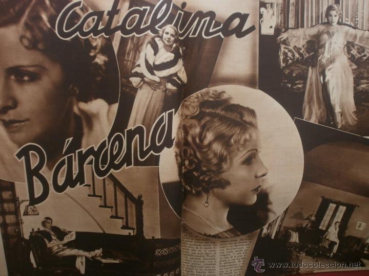 Cine: CINEGRAMAS Nº12.1934.GERTRUDE MICHAEL.IRENE LOPEZ HEREDIA,JAMES CAGNEY,KAY FRANCIS,CATALINA BARCENA. - Foto 9 - 40968536