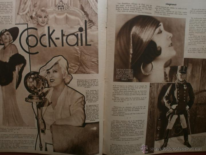 Cine: CINEGRAMAS Nº12.1934.GERTRUDE MICHAEL.IRENE LOPEZ HEREDIA,JAMES CAGNEY,KAY FRANCIS,CATALINA BARCENA. - Foto 10 - 40968536