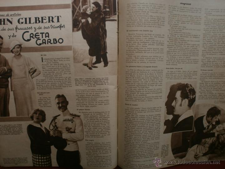 Cine: CINEGRAMAS Nº12.1934.GERTRUDE MICHAEL.IRENE LOPEZ HEREDIA,JAMES CAGNEY,KAY FRANCIS,CATALINA BARCENA. - Foto 13 - 40968536
