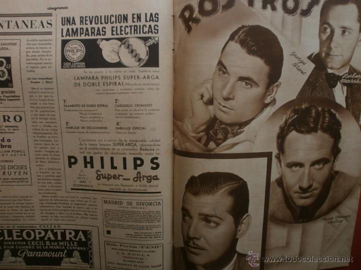 Cine: CINEGRAMAS Nº12.1934.GERTRUDE MICHAEL.IRENE LOPEZ HEREDIA,JAMES CAGNEY,KAY FRANCIS,CATALINA BARCENA. - Foto 15 - 40968536