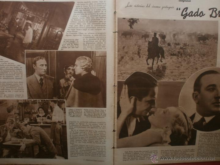 Cine: CINEGRAMAS Nº25.1935.GRETA GARBO.FLORIAN REY,IMPERIO ARGENTINA,ARTURITO GIRELLI,KITTY CARLISTE. - Foto 3 - 40969653