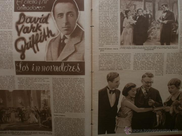 Cine: CINEGRAMAS Nº25.1935.GRETA GARBO.FLORIAN REY,IMPERIO ARGENTINA,ARTURITO GIRELLI,KITTY CARLISTE. - Foto 4 - 40969653