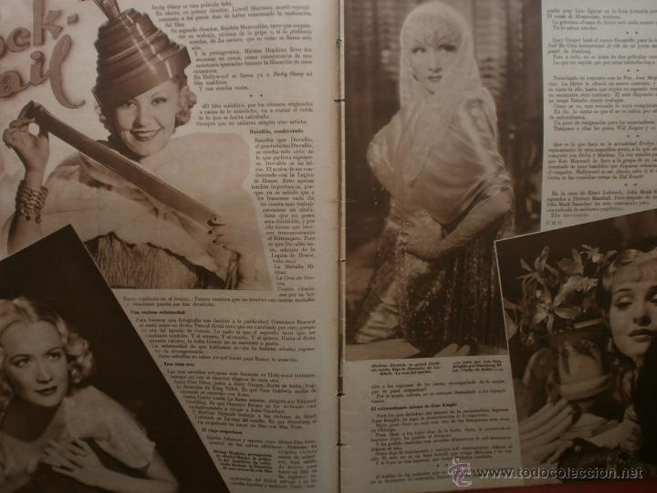 Cine: CINEGRAMAS Nº25.1935.GRETA GARBO.FLORIAN REY,IMPERIO ARGENTINA,ARTURITO GIRELLI,KITTY CARLISTE. - Foto 5 - 40969653