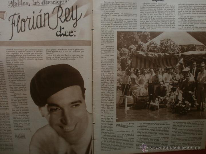 Cine: CINEGRAMAS Nº25.1935.GRETA GARBO.FLORIAN REY,IMPERIO ARGENTINA,ARTURITO GIRELLI,KITTY CARLISTE. - Foto 6 - 40969653