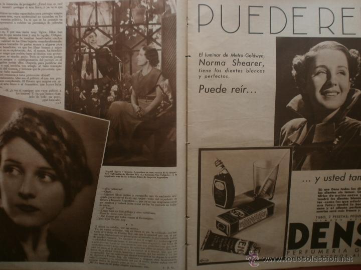 Cine: CINEGRAMAS Nº25.1935.GRETA GARBO.FLORIAN REY,IMPERIO ARGENTINA,ARTURITO GIRELLI,KITTY CARLISTE. - Foto 7 - 40969653
