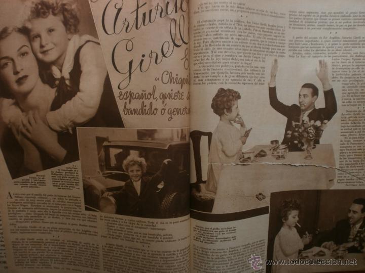 Cine: CINEGRAMAS Nº25.1935.GRETA GARBO.FLORIAN REY,IMPERIO ARGENTINA,ARTURITO GIRELLI,KITTY CARLISTE. - Foto 9 - 40969653