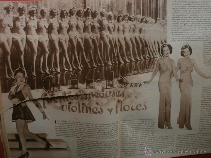 Cine: CINEGRAMAS Nº25.1935.GRETA GARBO.FLORIAN REY,IMPERIO ARGENTINA,ARTURITO GIRELLI,KITTY CARLISTE. - Foto 10 - 40969653