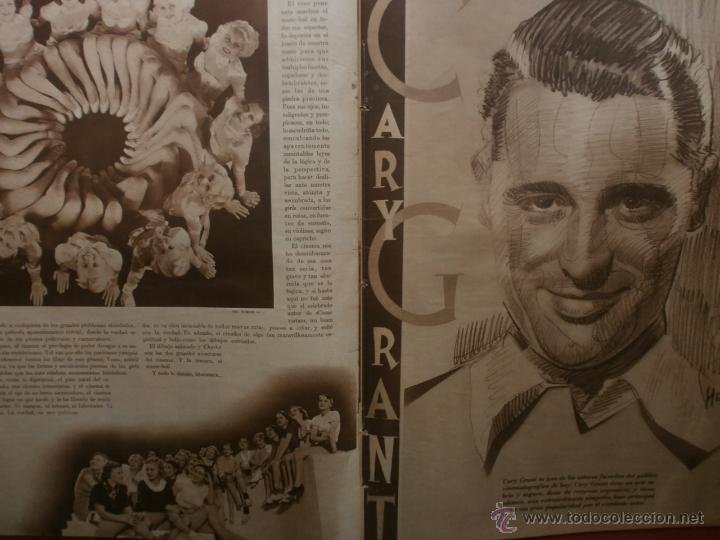 Cine: CINEGRAMAS Nº25.1935.GRETA GARBO.FLORIAN REY,IMPERIO ARGENTINA,ARTURITO GIRELLI,KITTY CARLISTE. - Foto 11 - 40969653