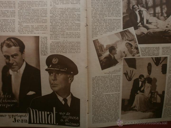 Cine: CINEGRAMAS Nº25.1935.GRETA GARBO.FLORIAN REY,IMPERIO ARGENTINA,ARTURITO GIRELLI,KITTY CARLISTE. - Foto 12 - 40969653