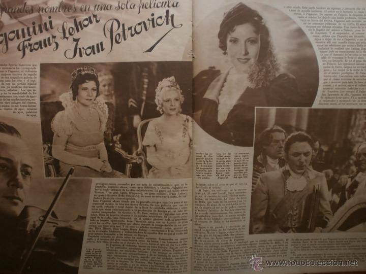 Cine: CINEGRAMAS Nº25.1935.GRETA GARBO.FLORIAN REY,IMPERIO ARGENTINA,ARTURITO GIRELLI,KITTY CARLISTE. - Foto 13 - 40969653