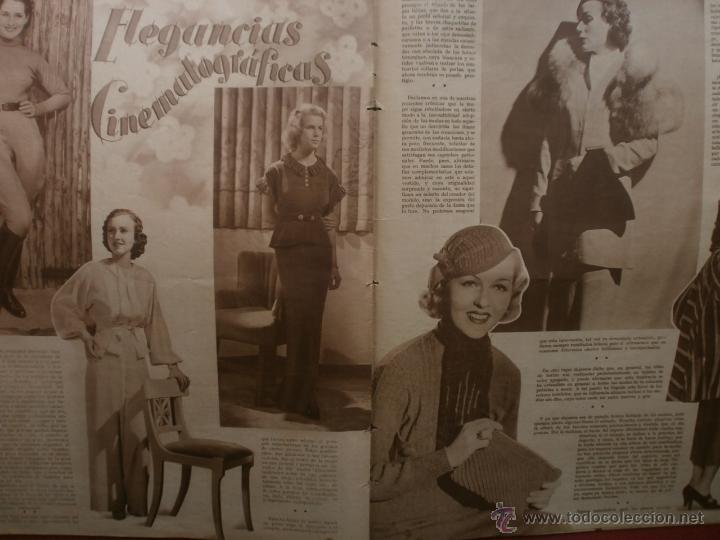 Cine: CINEGRAMAS Nº25.1935.GRETA GARBO.FLORIAN REY,IMPERIO ARGENTINA,ARTURITO GIRELLI,KITTY CARLISTE. - Foto 15 - 40969653