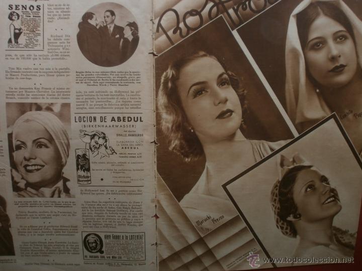 Cine: CINEGRAMAS Nº25.1935.GRETA GARBO.FLORIAN REY,IMPERIO ARGENTINA,ARTURITO GIRELLI,KITTY CARLISTE. - Foto 16 - 40969653