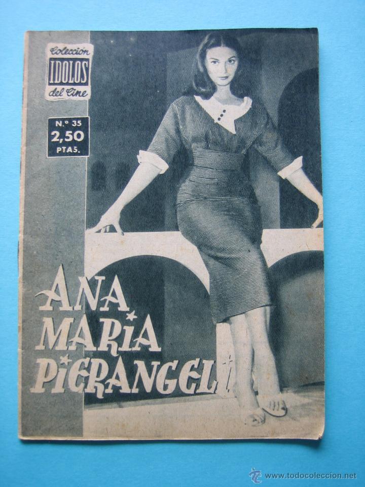 REVISTA COLECCION IDOLOS DEL CINE Nº 35 - ANA MARIA PIGRANEL - 28 PAGS. CON NUMEROSAS ILUSTRACIONES (Cine - Revistas - Colección ídolos del cine)