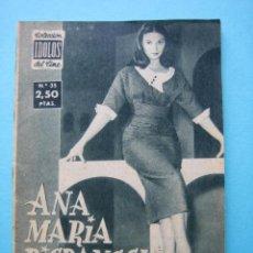 Cine: REVISTA COLECCION IDOLOS DEL CINE Nº 35 - ANA MARIA PIGRANEL - 28 PAGS. CON NUMEROSAS ILUSTRACIONES. Lote 41167679