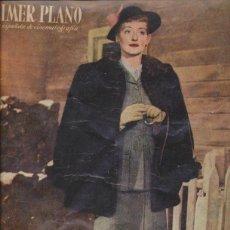 Cine: PRIMER PLANO Nº 430. AÑO 1949.. Lote 41182457