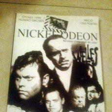Cine: NICKEL ODEON Nº 16 - ESPECIAL ORSON WELLES - OTOÑO 1999. Lote 41375821