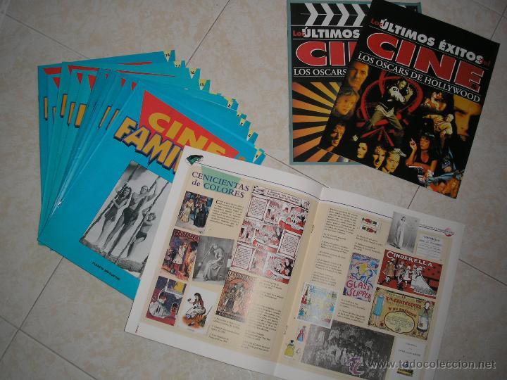 COLECCION CINE FAMILIAR DE PLANETA AGOSTINI. 18 FASCICULOS. (Cine - Revistas - Colección grandes películas)