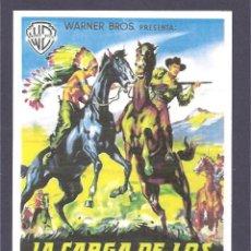 Cine: LA CARGA DE LOS JINETES INDIOS. Lote 41424508