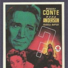 Cine: EL MISTERIO DEL MONO ROJO. Lote 41424750