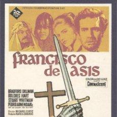 Cine: FRANCISCO DE ASÍS. Lote 41425096