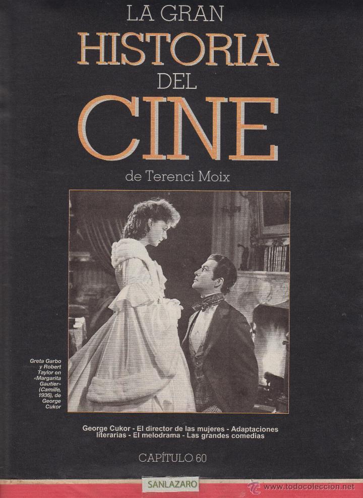 CINE - LA GRAN HISTORIA - GRETA GARBO Y ROBERT TAYLOR EN MARGARITA - 1936 - Nº60- PG.16 (Cine - Revistas - La Gran Historia del cine)