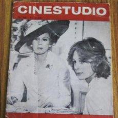 Cine: CINESTUDIO - NOVIEMBRE – DICIEMBRE 1972 Nº 115. Lote 41461055