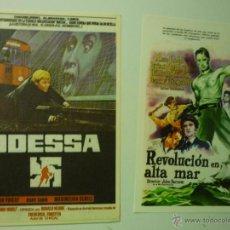 Cine: LOTE PROGRAMAS MODERNOS REVOLUCION EN ALTA MAR.- ODESSA. Lote 41461938