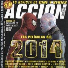 Cine: ACCION N. 1401 ENERO 2014 - EN PORTADA: LAS PELICULAS DEL 2014 (NUEVA). Lote 95563832
