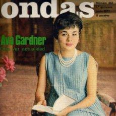 Cinéma: REVISTA ONDAS - Nº 468 - 1972 - PORTADA FARAH DIBA. Lote 41513451