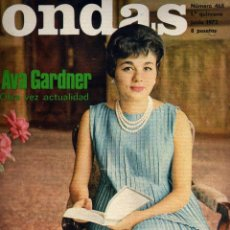 Cinema: REVISTA ONDAS - Nº 468 - 1972 - PORTADA FARAH DIBA. Lote 41513451