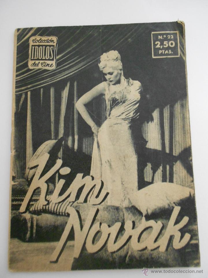 COLECCION IDOLOS DEL CINE Nº 22 KIM NOVAK--ENVIO 1€ (Cine - Revistas - Colección ídolos del cine)
