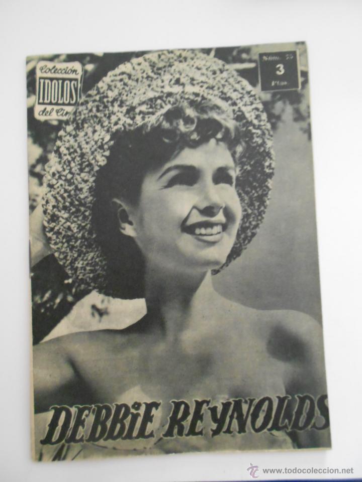 COLECCION IDOLOS DEL CINE Nº 75 DEBBIE REYNOLDS --ENVIO 1€ (Cine - Revistas - Colección ídolos del cine)