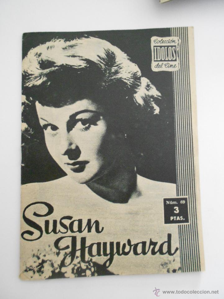 COLECCION IDOLOS DEL CINE Nº 69 SUSAN HAYWARD --ENVIO 1€ (Cine - Revistas - Colección ídolos del cine)