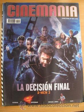 CINEMANIA Nº129 (JUNIO 2006) PORTADA HOLOGRAFICA (LEER DESCRIPCION) (Cine - Revistas - Cinemanía)