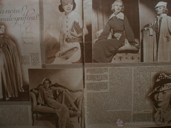 Cine: CINEGRAMAS Nº81.1936.IMPERIO ARGENTINA.ANA PAVLOVA,RICARDO NUÑEZ,MARY-LOLI HIGUERAS,MARLENE DIETRICH - Foto 4 - 41727212