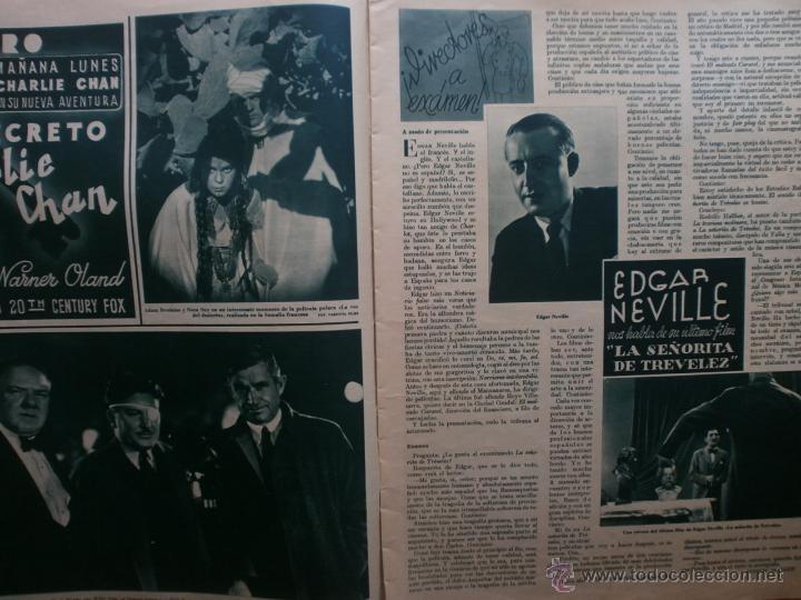 Cine: CINEGRAMAS Nº81.1936.IMPERIO ARGENTINA.ANA PAVLOVA,RICARDO NUÑEZ,MARY-LOLI HIGUERAS,MARLENE DIETRICH - Foto 5 - 41727212