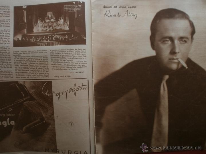 Cine: CINEGRAMAS Nº81.1936.IMPERIO ARGENTINA.ANA PAVLOVA,RICARDO NUÑEZ,MARY-LOLI HIGUERAS,MARLENE DIETRICH - Foto 7 - 41727212