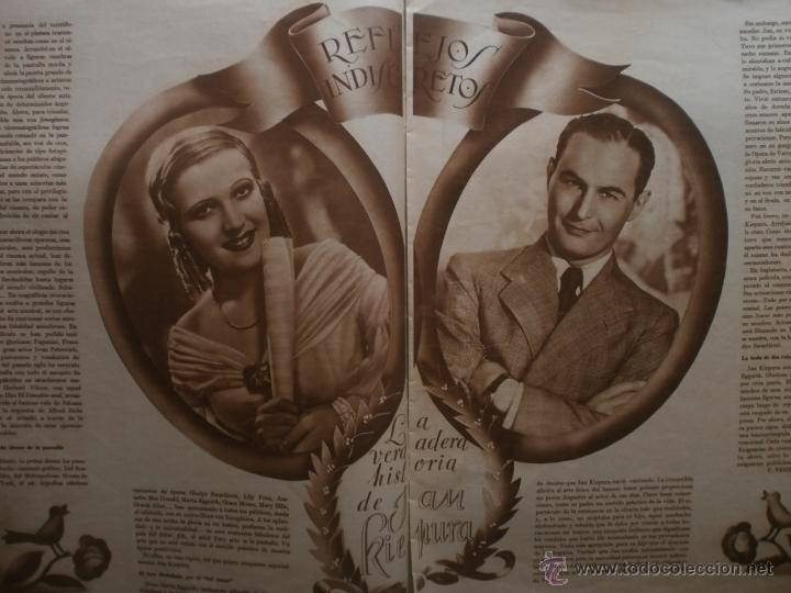 Cine: CINEGRAMAS Nº81.1936.IMPERIO ARGENTINA.ANA PAVLOVA,RICARDO NUÑEZ,MARY-LOLI HIGUERAS,MARLENE DIETRICH - Foto 8 - 41727212