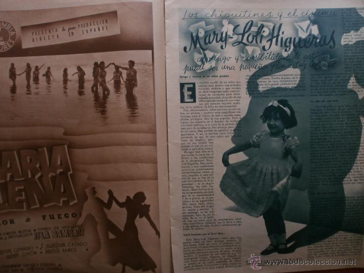 Cine: CINEGRAMAS Nº81.1936.IMPERIO ARGENTINA.ANA PAVLOVA,RICARDO NUÑEZ,MARY-LOLI HIGUERAS,MARLENE DIETRICH - Foto 9 - 41727212